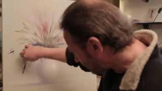 Сахаров Картина Маслом на холсте Нежный букет