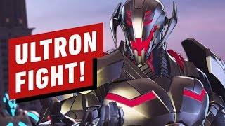 4 Minutes of Marvel Ultimate Alliance 3 Ultron Boss Fight Gameplay