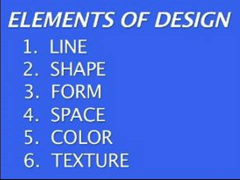 Basic Principles in Designing a Painting : Elements of Painting Design