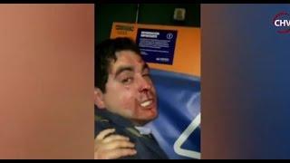 Confuso incidente entre guardias del Metro y sujeto que resistió retención - CHV NOTICIAS