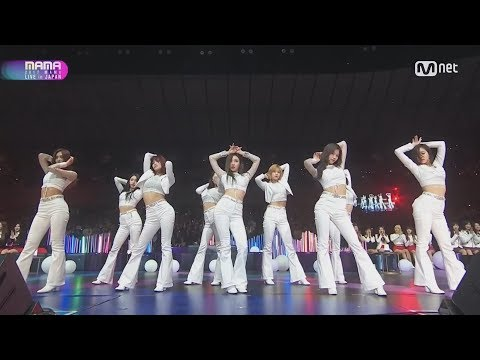 [MAMA 2017] TWICE - MY NAME [HOT/MATURE PERFORMANCE]