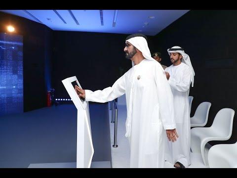 محمد بن راشد يفتتح مركز التحكم الموحد لأنظمة النقل والطرق في دبي