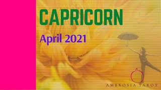 Capricorn Monthly Tarot April 6th-30th, 2021-Couples, Singles and  Career Spreads (Timestamped)