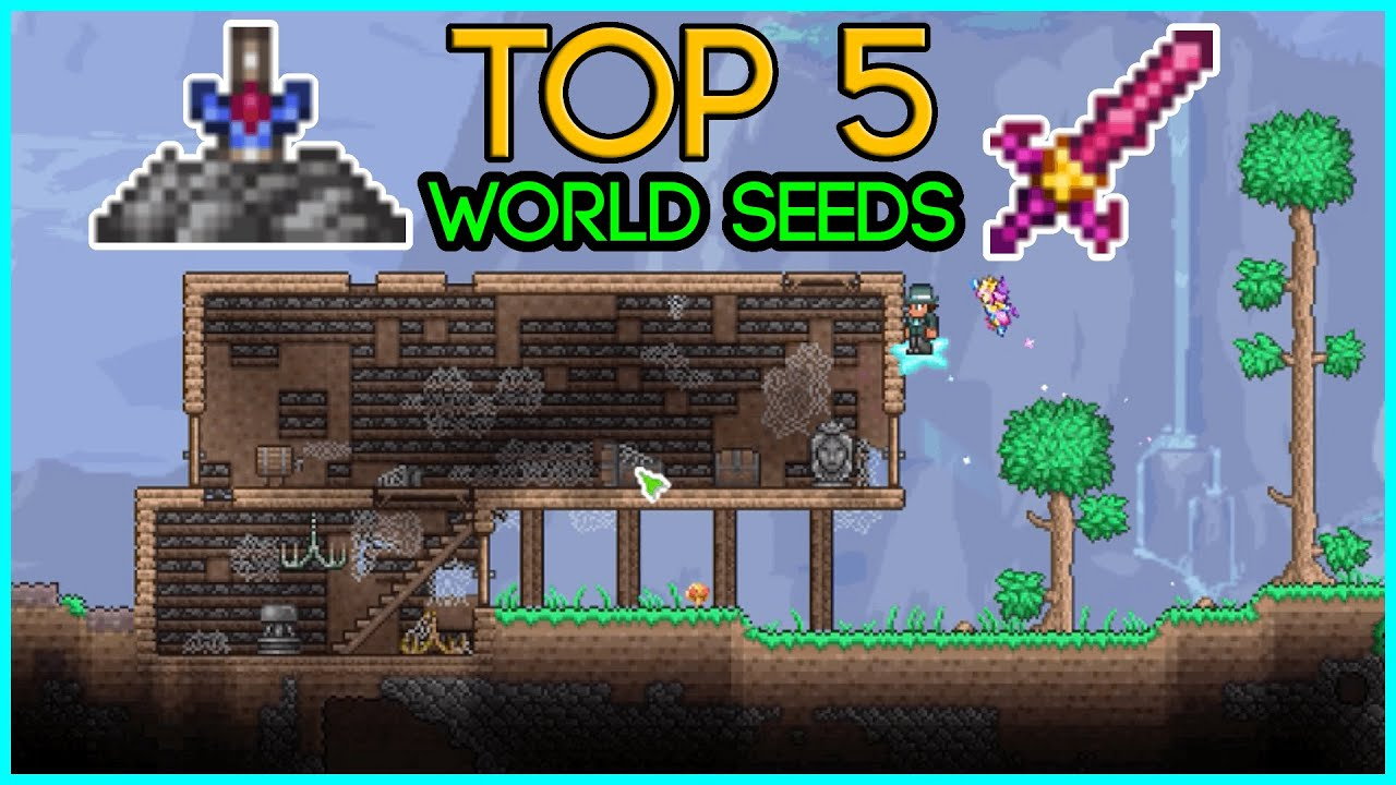 TOP 5 World Seeds in Terraria 1.4.2.3