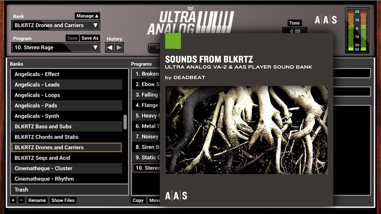 Applied Acoustics Ultra Analog Sound Banks Demo