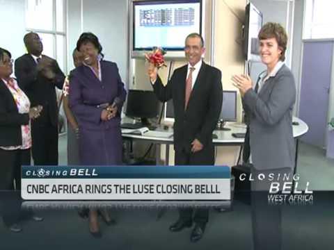 CNBC Africa's Rakesh Wahi Rings Lusaka Closing Bell