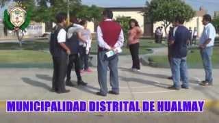Simulacro por Sismo a Nivel Nacional - 29 de Mayo del 2015 - Municipalidad Distrital de Hualmay