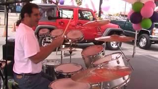 Stumblin In Suzy quatro, crhris norman, drum sing cover 2012 Valencia Power Dodge Chrysler mlp