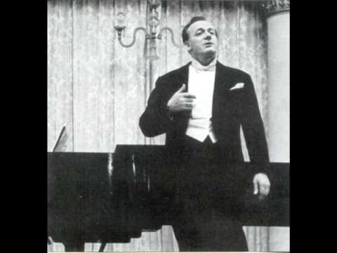 "Sergei Lemeshev ""Una furtiva lagrima"" 1954 (live recording)"