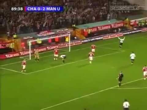 Ole Gunnar Solskjaer First Goal After Injury - Charlton 2006