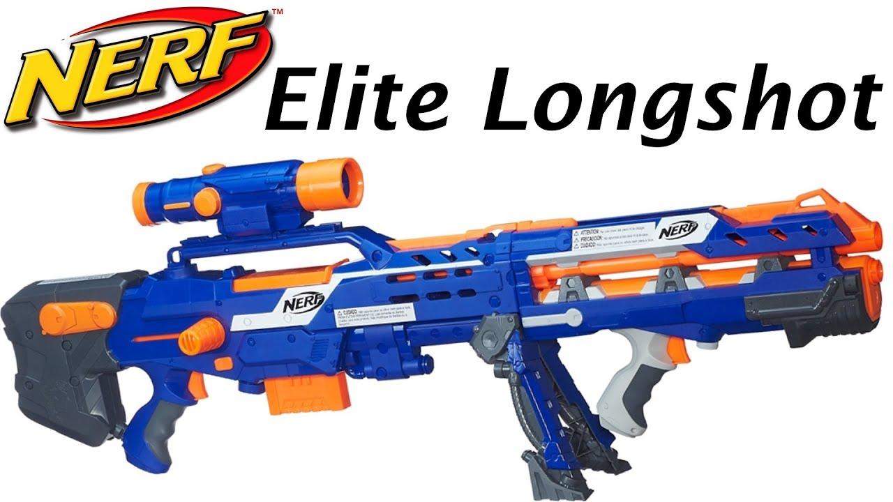Toys R Us Nerf Guns : Long shot nerf gun toys r us youtube