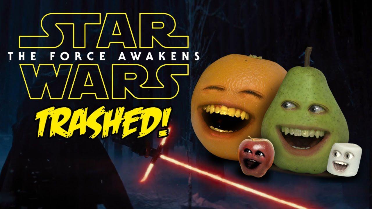 Annoying Orange Wish Upon Trailer Trashed