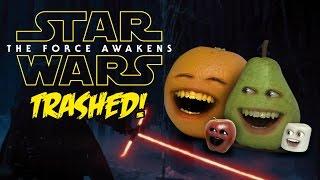 Annoying Orange - STAR WARS TRAILER Trashed!! thumbnail