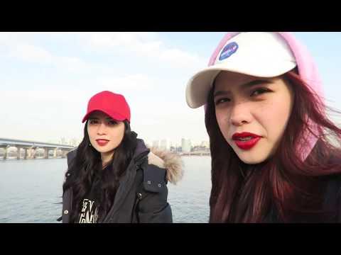 Winter Seoul 2017 Vlog Part 4 | Ice Skating, Han River & Bukchon Hanok Village.