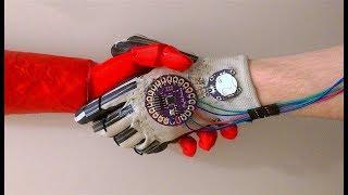 Flex Sensor Glove and Robotic Arm