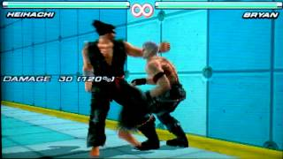 "Tekken 3D Prime Edition Young Heihachi Combo Video - ""The Pinnacle of Humanism"""