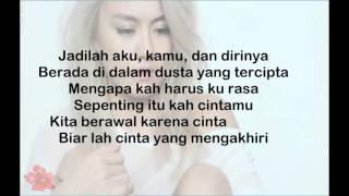 Video AGNEZ MO  - Sebuah Rasa ( Lyrics) download MP3, 3GP, MP4, WEBM, AVI, FLV Oktober 2018