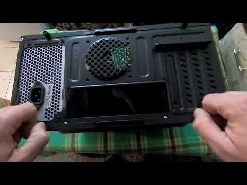 Корпус Сrown CMC-410 400 Вт Black