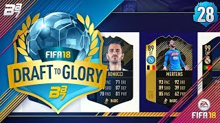 DRAFT TO GLORY! FULL SERIE A CHALLENGE #28 | FIFA 18 ULTIMATE TEAM