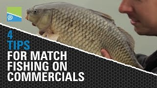 4 Essential Tips for Match Fishing on Commercials