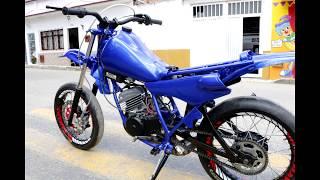 Download Foto a foto del cambio extremo de esta Yamaha Dt 125