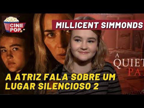 Millicent Simmonds fala sobre Um Lugar Silencioso 2 e se teremos novas sequências...