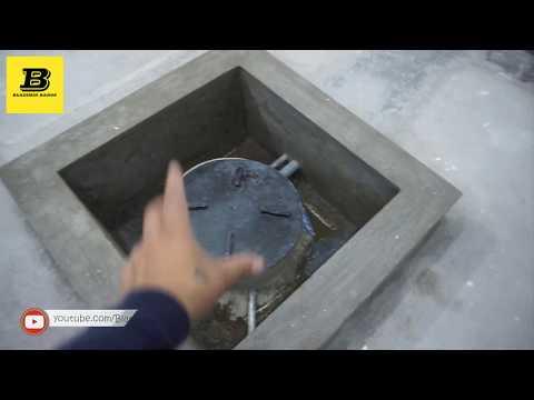 Instalacion de cisterna y bomba sumergible