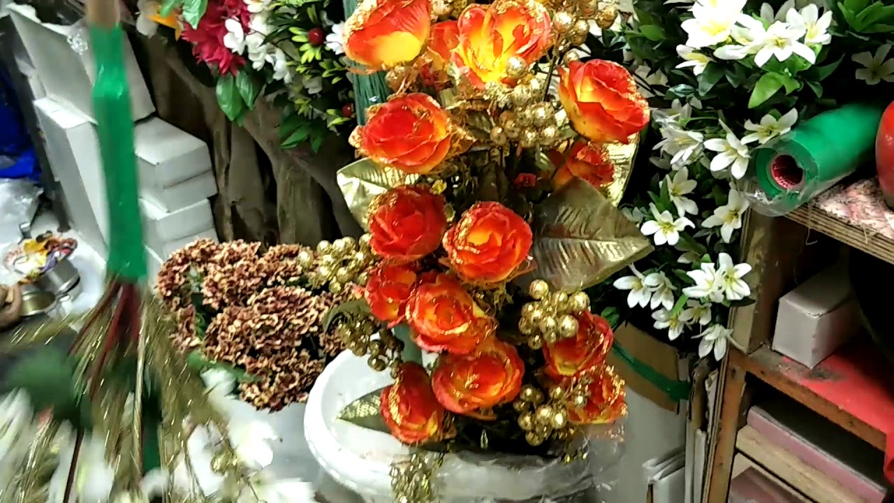 Artificial Flowers Wholesale Market Fancy Flowers Plastic