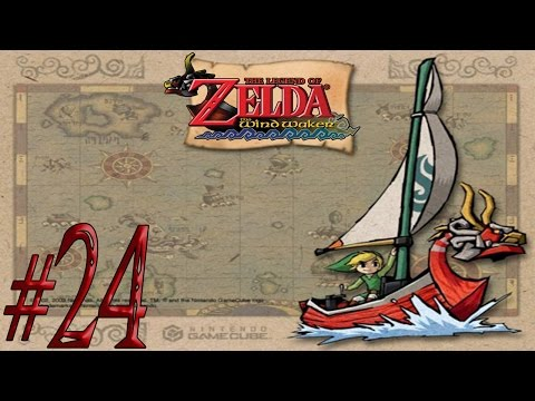 The Legend of Zelda: The Wind Waker ~All Treasure Charts~ Part 24