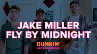 Jake Miller & Fly By Midnight Perform At The Dunkin Latte Lounge