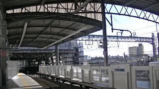 西武鉄道10109F 池袋1番到着 特急むさし~臨時回送