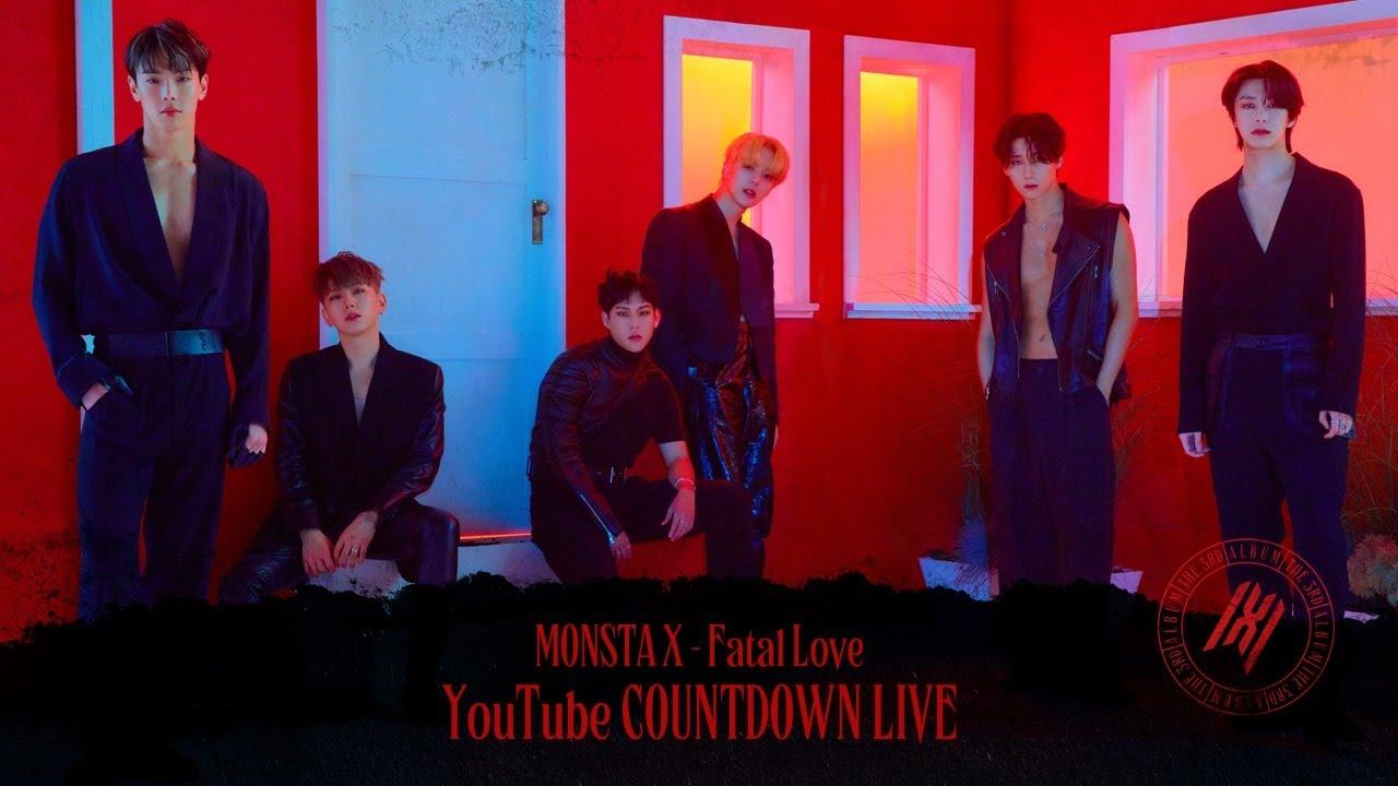 MONSTA X - 'Fatal Love' YouTube COUNTDOWN LIVE