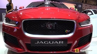 2016 Jaguar XE S - Exterior and Interior Walkaround - 2015 Tokyo Motor Show