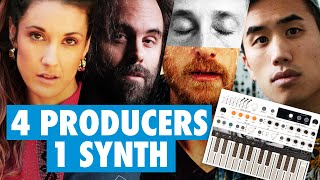 4 PRODUCERS 1 SYNTH