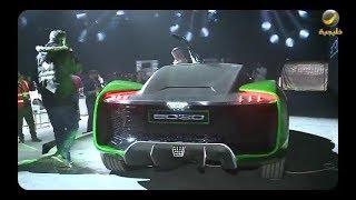 تخيل: معالي المستشار تركي آل الشيخ كشف خلال معرض الرياض للسيارات عن سيارة 2030