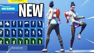 *NEW* Maki Master Skin Showcase With Dance Emotes! Fortnite Battle Royale