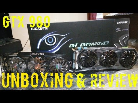 Gigabyte GeForce GTX 980 G1 Gaming - Unboxing Review And Benchmarks