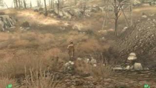 Fallout 3 Secrets Part 1: Alien Spaceship Crash Location