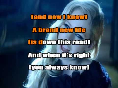 Avril Lavigne - Let Me Go Ft. Chad Kroeger Karaoke / Instumental