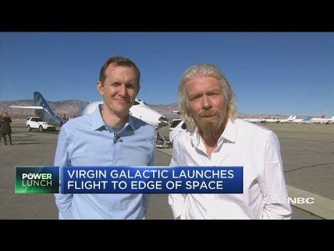 Richard Branson hopes for space trip with Virgin Galactic in 2019
