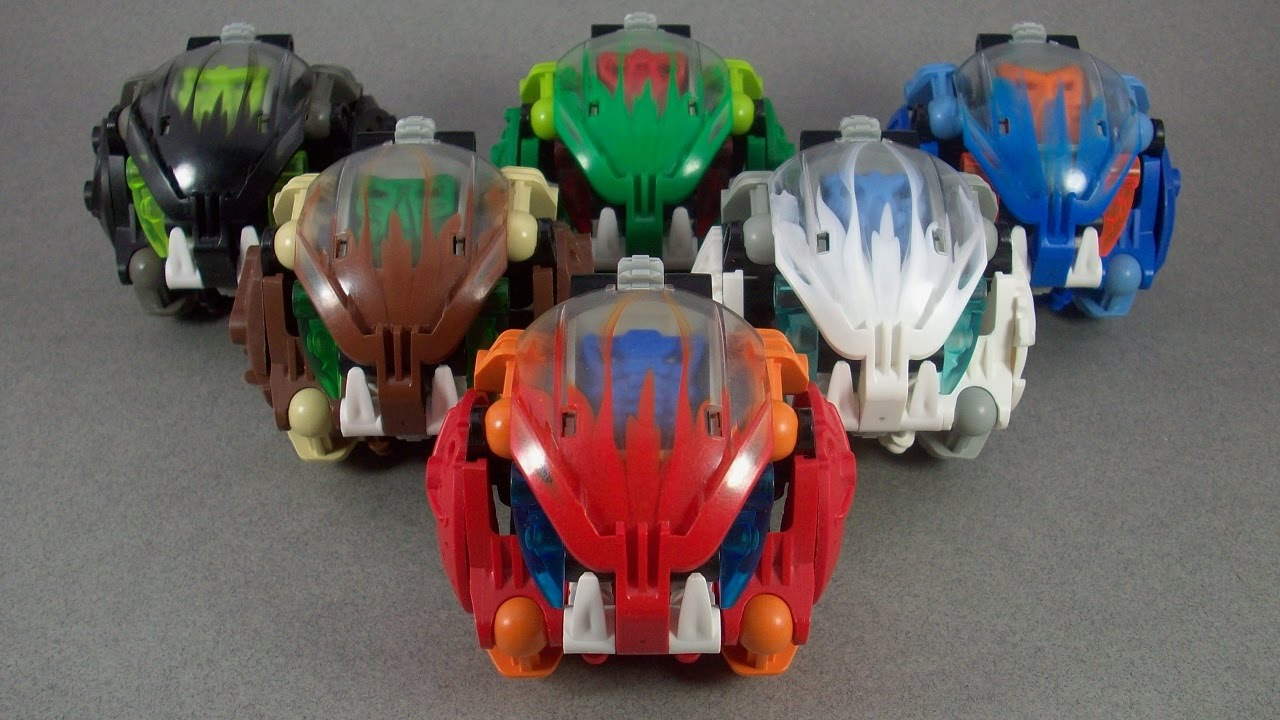 Bionicle Review The Bohrok 2002 Youtube