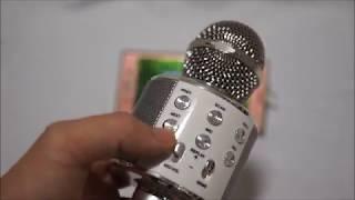 블루투스 노래방 마이크 - 블루선 WS-858 사용법