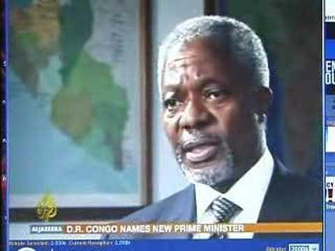Al Jazeera-UN Secretary General Kofi Annan
