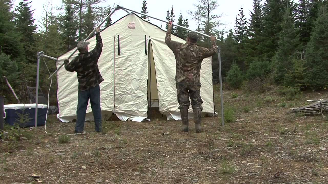 Deluxe Wall Tents & Deluxe Wall Tents - YouTube