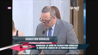 Conozca la vida de Sebastián Dávalos, el dolor de cabeza de la familia Bachelet