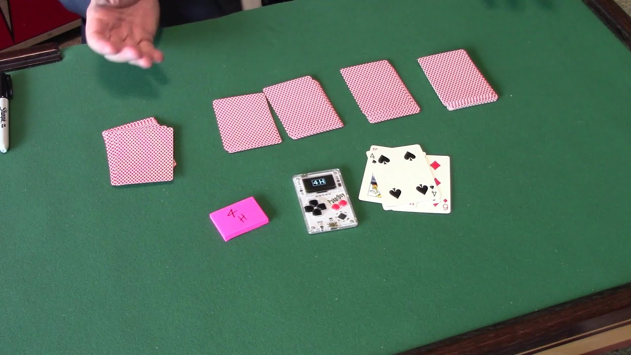 The Poker Boy Bloom Miracle Poker Machine By Gaetan Bloom Chris Wasshuber Performed By Andy Martin Youtube