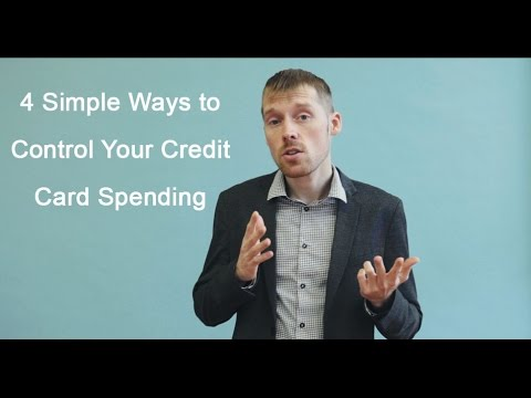 Burn Your Mortgage - 4 Simple Ways to Control Your Credit Card Spending