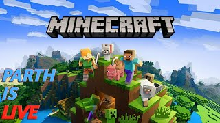 MINECRAFT HINDI  LIVE   road to 200subs   ROCKERS SMP S2