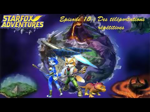 Starfox Adventures 100% Ep10 :  Des Téléportations Répétitive