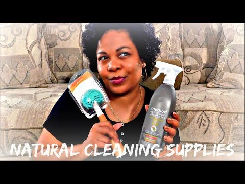 Natural Cleaning Supplies Haul | Target
